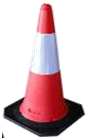 SANKI SAFETY CONE BASE BLACK