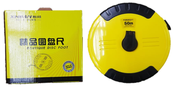 OPEN REEL FIBREGLASS MEASURING TAPE 50M