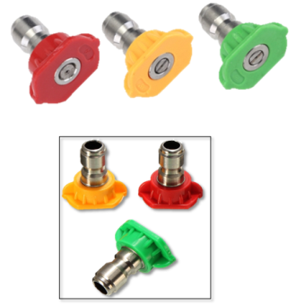 WASHER SPRAY NOZZLE (RED)