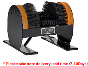 BOOT SHOE CLEANING BRUSH DELUXE SCRUSHER