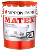 NIPPON PAINT MATEX WHITE (9102) - 20L