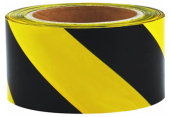 SANKI SAFETY BARRICADE TAPE 100M (BLACK & YELLOW)